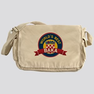 World's Best Baka Messenger Bag