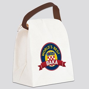 World's Best Baka Canvas Lunch Bag