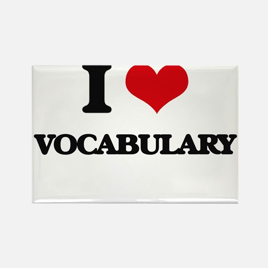 I love Vocabulary Magnets