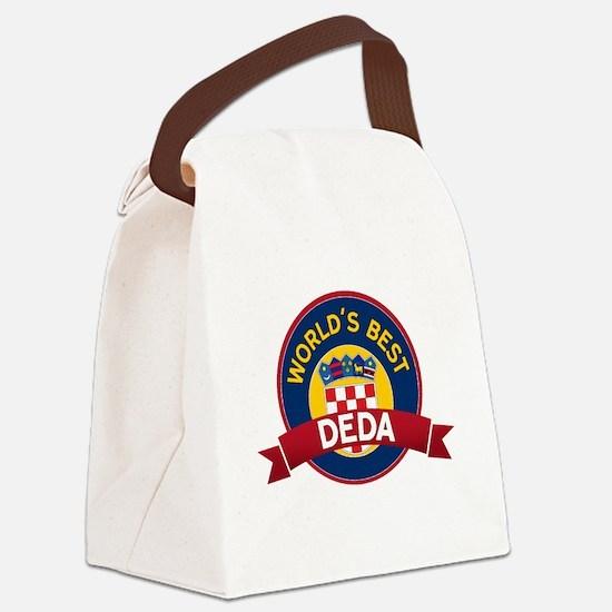World's Best deda Canvas Lunch Bag