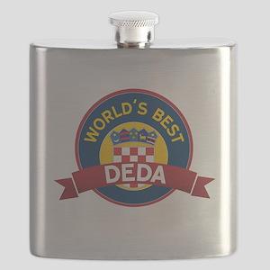 World's Best deda Flask