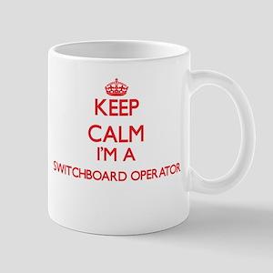 Keep calm I'm a Switchboard Operator Mugs