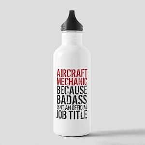 Aircraft Mechanic Bada Stainless Water Bottle 1.0L