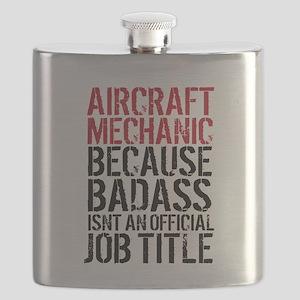 Aircraft Mechanic Badass Fun Flask