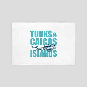Turks and Caicos Islands - Scuba 4' x 6' Rug