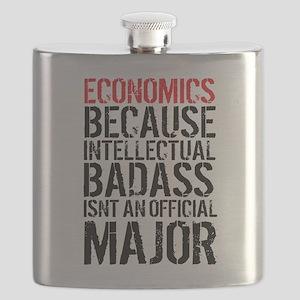Economic Major Funny Flask