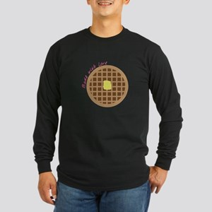 Waffle_Made With Love Long Sleeve T-Shirt