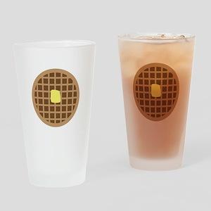 Waffle_Base Drinking Glass
