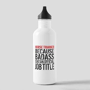 Horse Trainer Badass J Stainless Water Bottle 1.0L
