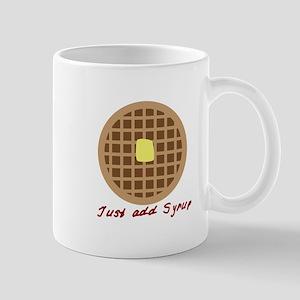 Waffle_Just Add Syrup Mugs