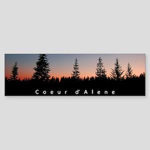 Idaho: Coeur d'Alene Sticker (Bumper)