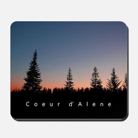 Idaho: Coeur d'Alene Mousepad