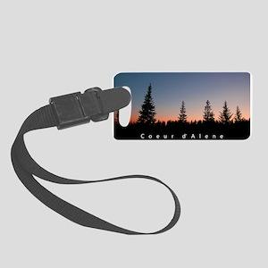 Idaho: Coeur d'Alene Small Luggage Tag