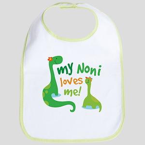 My Noni Loves Me Dinosaur Bib