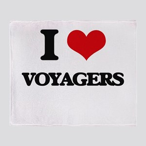 I love Voyagers Throw Blanket