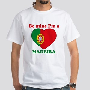 Madeira, Valentine's Day White T-Shirt
