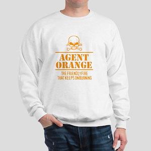 Agent Orange Humor Sweatshirt