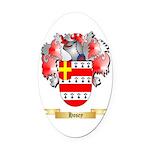Hosey Oval Car Magnet