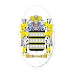 Horwood Oval Car Magnet