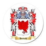 Horvath Round Car Magnet