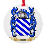 Horta Round Ornament