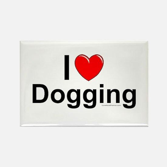 Dogging Rectangle Magnet