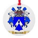 Horseford Round Ornament