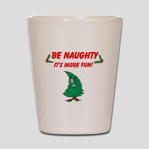Be Naughty Shot Glass