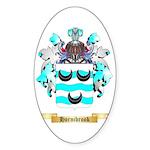 Hornibrook Sticker (Oval 50 pk)
