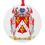 Hornett Round Ornament
