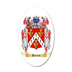 Hornet 35x21 Oval Wall Decal
