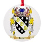 Horner Round Ornament