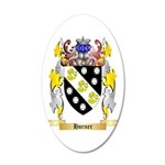 Horner 20x12 Oval Wall Decal