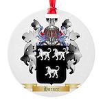 Horner 2 Round Ornament