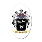 Horner 2 20x12 Oval Wall Decal