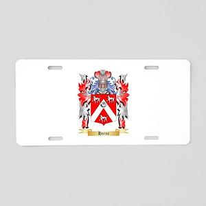 Horne Aluminum License Plate