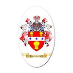 Hornbuckle 35x21 Oval Wall Decal