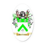 Hornblower Oval Car Magnet