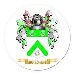 Hornblower Round Car Magnet