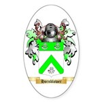 Hornblower Sticker (Oval)