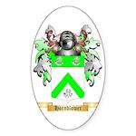 Hornblower Sticker (Oval 10 pk)