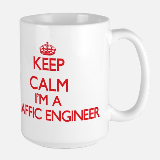 Keep calm I'm a Traffic Engineer Mugs