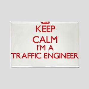 Keep calm I'm a Traffic Engineer Magnets