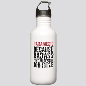 Funny Badass Paramedic Stainless Water Bottle 1.0L