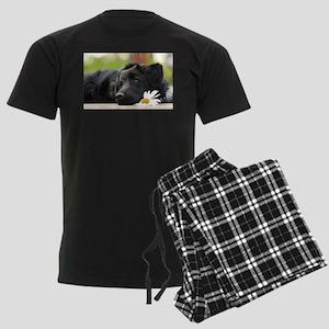 Black Lab Men's Dark Pajamas