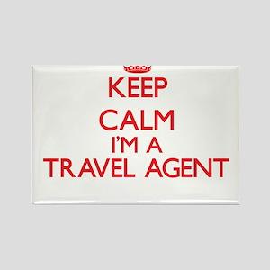 Keep calm I'm a Travel Agent Magnets