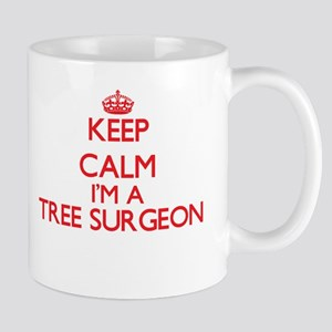 Keep calm I'm a Tree Surgeon Mugs