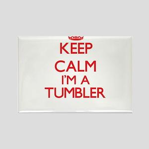 Keep calm I'm a Tumbler Magnets