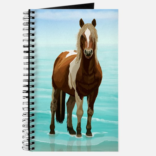 Chincoteague Paint Pony at Surf's Edge Journal