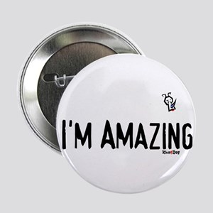 i'm amazing rhino Button